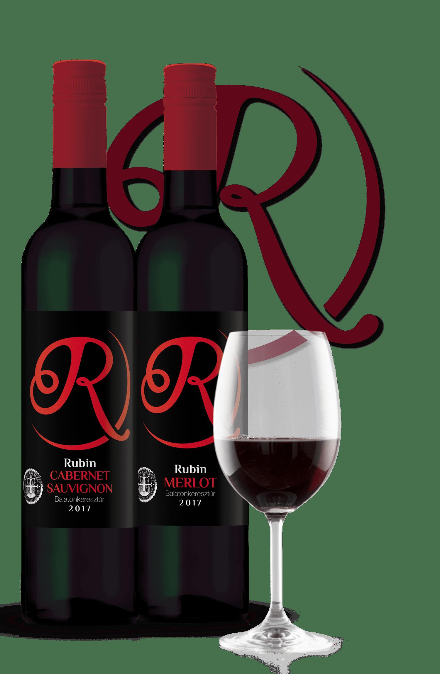 Rubin Pince - Cabernet Sauvignon - Merlot